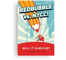 RedBubble vs. NYCC Canvas Print