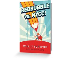 RedBubble vs. NYCC Greeting Card