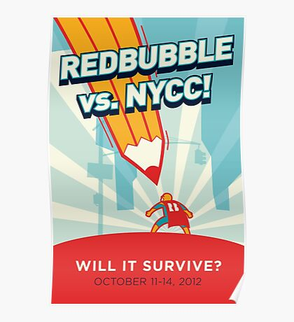 RedBubble vs. NYCC Poster