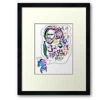 SKETCHUMS Framed Print