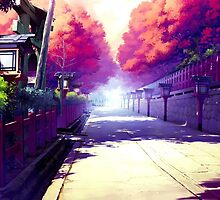 Subtle Anime Scenery 2 by Andrew Choo
