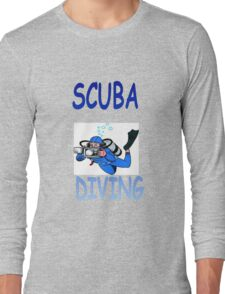 SCUBA DIVING Long Sleeve T-Shirt