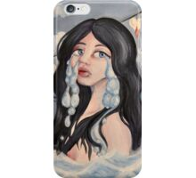 Don't Leave Me Drowning In My Tears iPhone Case/Skin