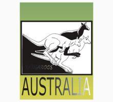 KANGAROOS AUSTRALIA by Colin Van Der Heide
