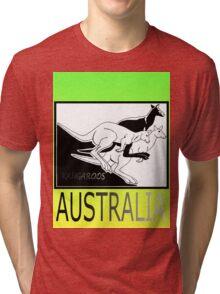 KANGAROOS AUSTRALIA Tri-blend T-Shirt