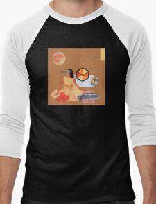 Not Ready For A Picnic Men's Baseball ¾ T-Shirt
