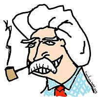 Mark Twain by coolfacetees