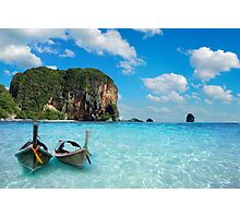 Postcard from the Andaman Sea in Thailand Photographic Print