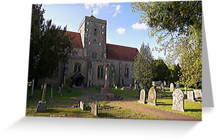 The Assumption of Blessed Mary and St. Nicholas, Etchingham by ColinBoylett