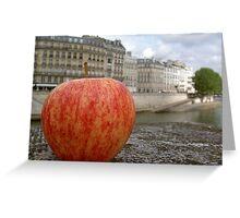 Apple of Paris Greeting Card