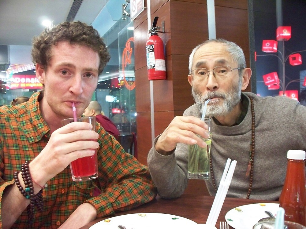So a German and a Japanese Zen Priest Walk Into a Pizza Hut by Angie Spicer
