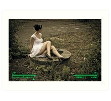 Wasteland Wanderer 3 Art Print