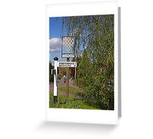 Etchingham Village Sign Greeting Card