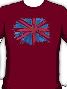 Watercolor Flag of the United Kingdom of Great Britain and Northern Ireland T-Shirt