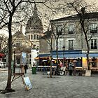 Place du Tertre, Montmartre, in the morning by Irina-C