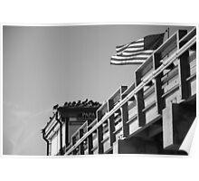Venice pier bait shack. Poster