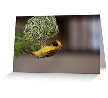 Weaver Greeting Card