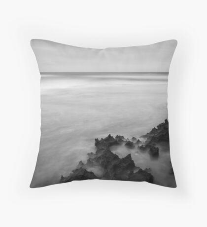 Spray Point - Mono Throw Pillow