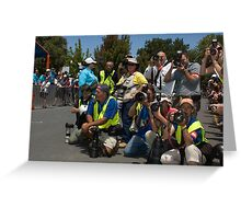 The Photographers Greeting Card