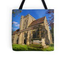 The Parish Church, Etchingham Tote Bag