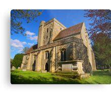 The Parish Church, Etchingham Metal Print