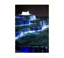 Fontaine Bleue Art Print
