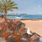 Snapper Rocks by Elaine Green