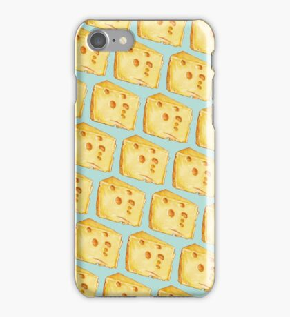 Cheese Pattern iPhone Case/Skin