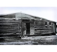Old wooden shed Photographic Print