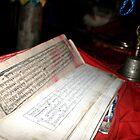 Ancient Milrepa Scripture's Cave in the Himalaya's by leannepapas