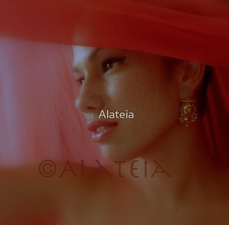 LA FILLE EN ROUGE by Alateia
