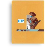 Keep 109 Canvas Print