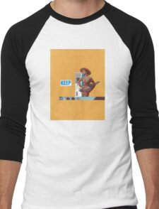 Keep 109 Men's Baseball ¾ T-Shirt