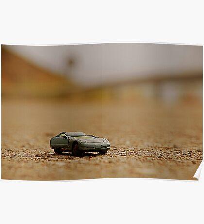 Toy Car Crash Poster
