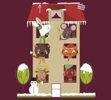 House Winter by Judith Loske