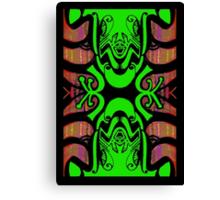 Treefrog Totem Canvas Print