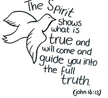 John 16: The Spirit guides by countedhairs