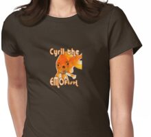 Cyril the Emofish Womens Fitted T-Shirt