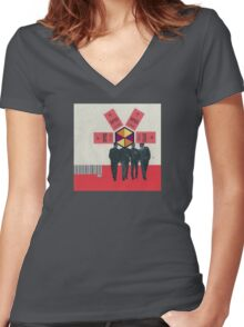 Eureka Women's Fitted V-Neck T-Shirt