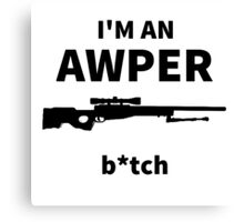 I'm an AWPER Canvas Print