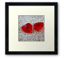 Love is a precious Jewel Framed Print