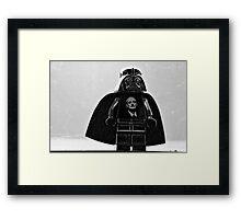 Darth Venkman Framed Print