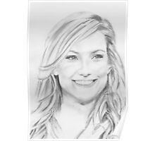 a kate hudson drawing Poster