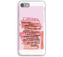 John 21: What Jesus did iPhone Case/Skin