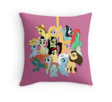 Pony Princess Collection Throw Pillow