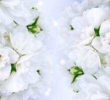 Romantic Jasmine Bouquet by Digifuture