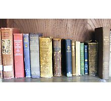Old Volumes Photographic Print