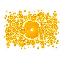 Juicy Oranges by Digifuture