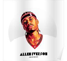 Allen Iverson - SMILE DESIGN Poster