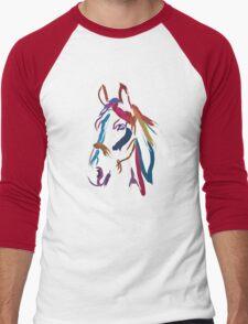 Cool t-shirt Horse Colour me beautiful Men's Baseball ¾ T-Shirt